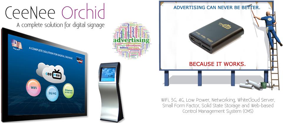 Orchid Digital Signage